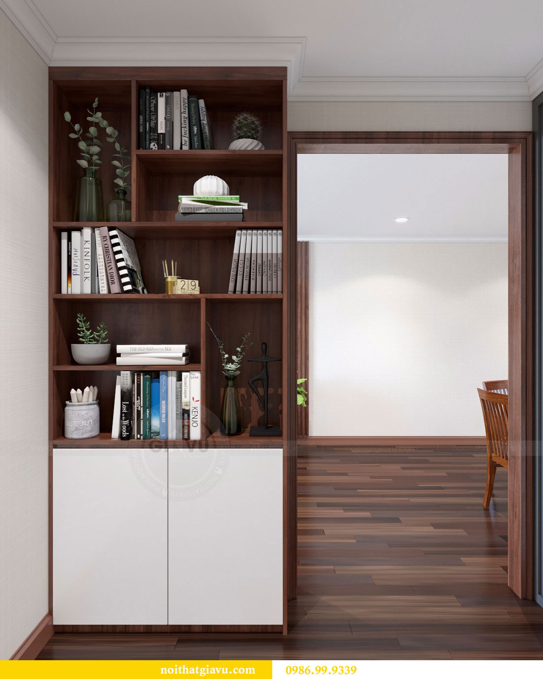Thiết kế nội thất chung cư Vinhomes D Capitale 7