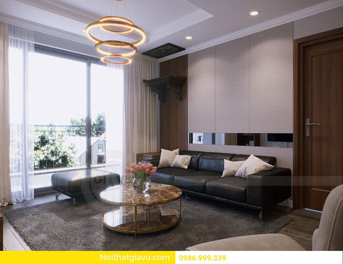Thiết kế nội thất chung cư Vinhomes D Capitale 8
