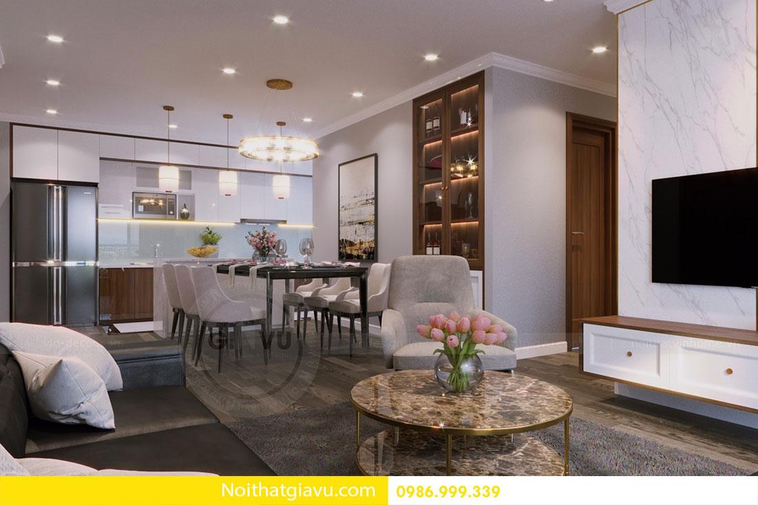 Thiết kế nội thất chung cư Vinhomes D Capitale 9