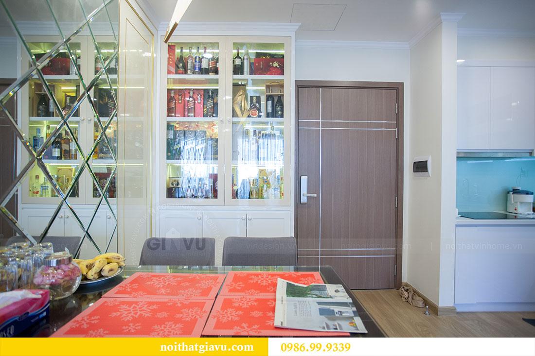 Thi công hoàn thiện nội thất chung cư Gardenia căn 21 tòa A3 1