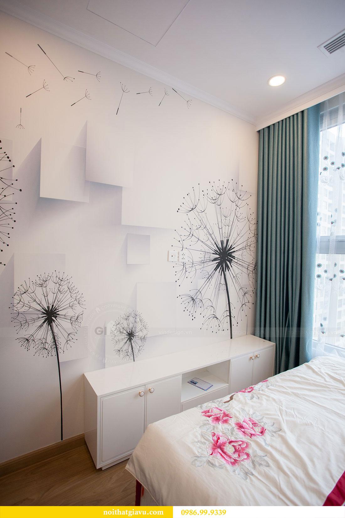 Thi công hoàn thiện nội thất chung cư Gardenia căn 21 tòa A3 15