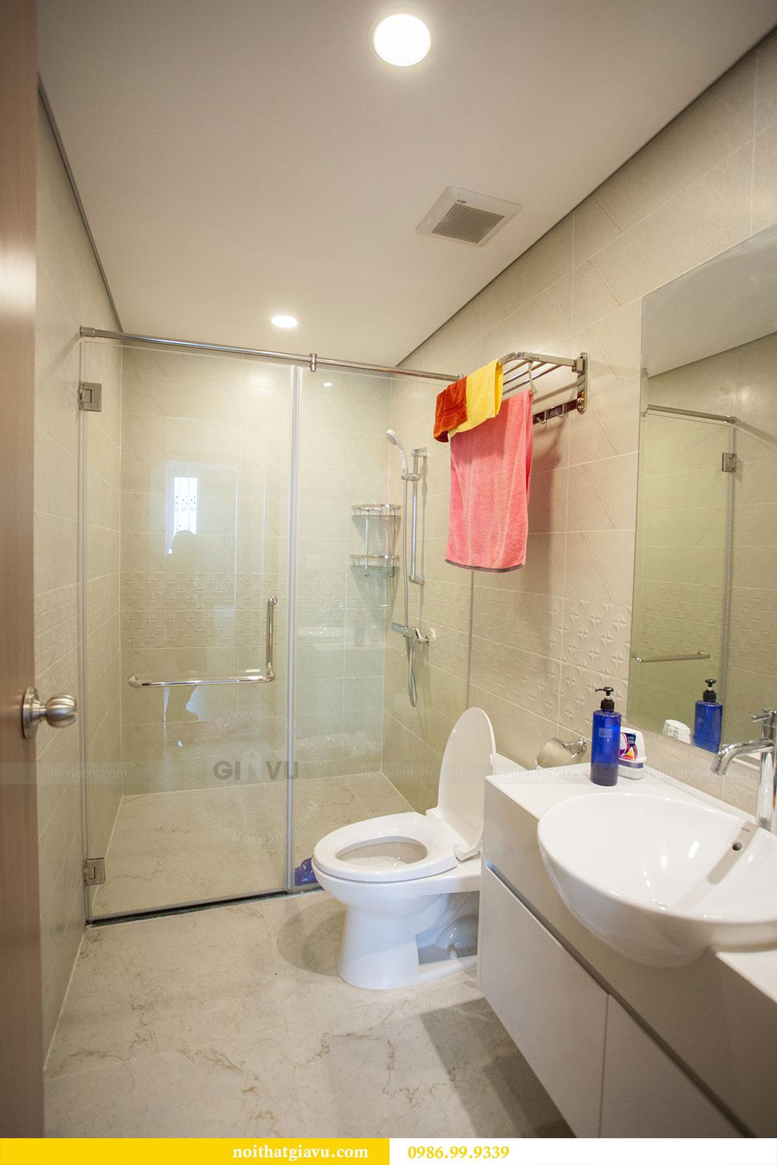 Thi công hoàn thiện nội thất chung cư Gardenia căn 21 tòa A3 16