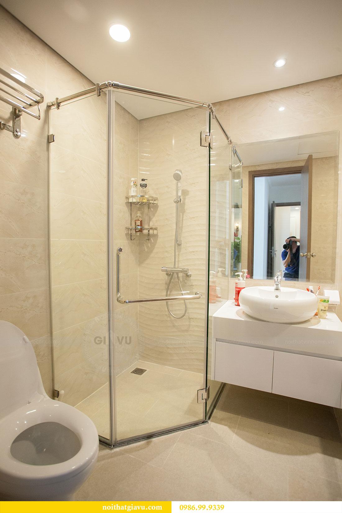 Thi công hoàn thiện nội thất chung cư Gardenia căn 21 tòa A3 17