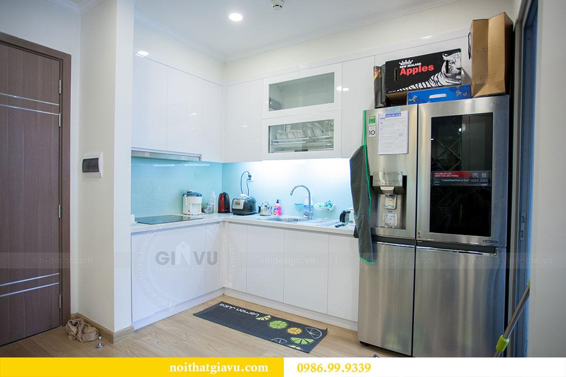Thi công hoàn thiện nội thất chung cư Gardenia căn 21 tòa A3 2