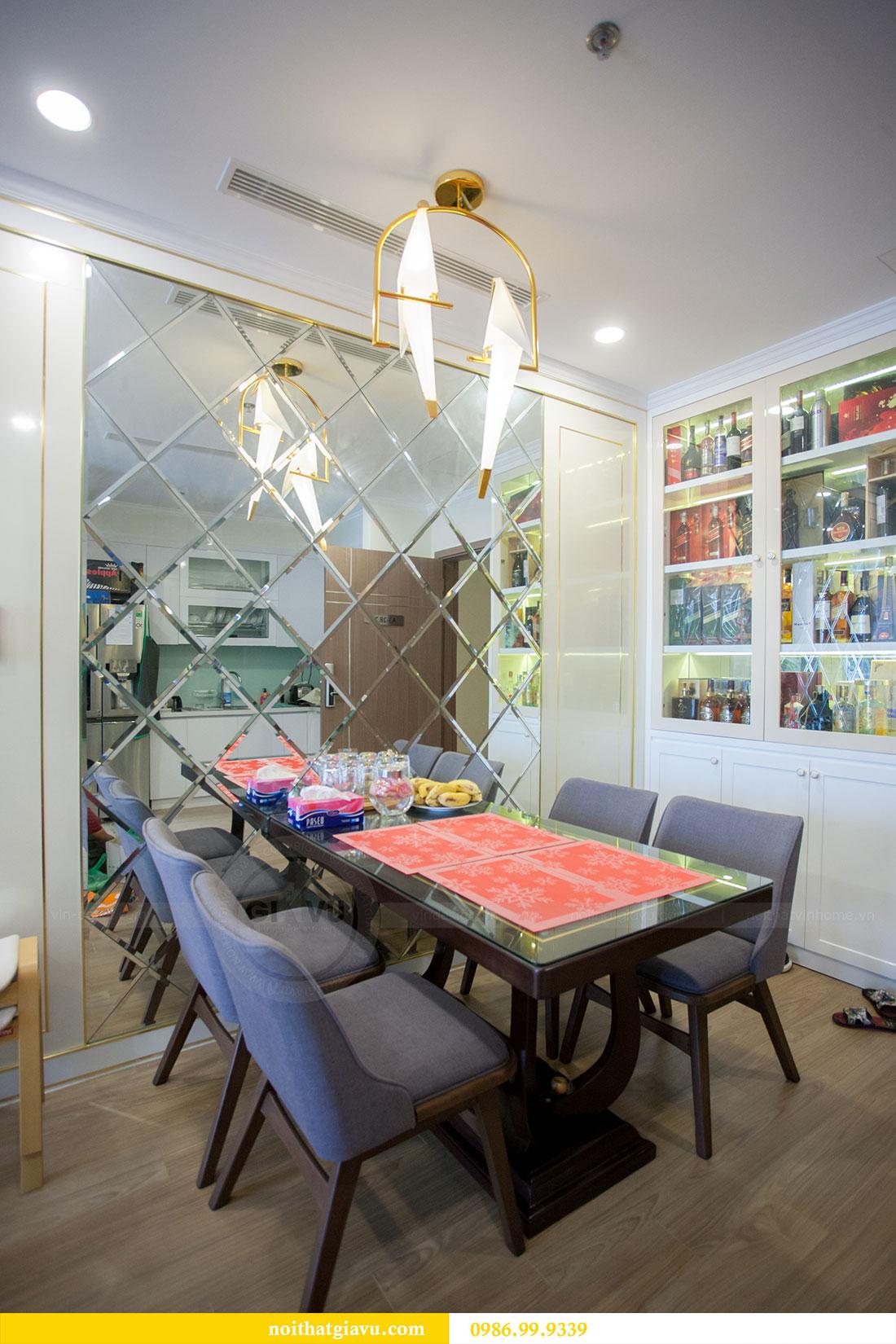 Thi công hoàn thiện nội thất chung cư Gardenia căn 21 tòa A3 3