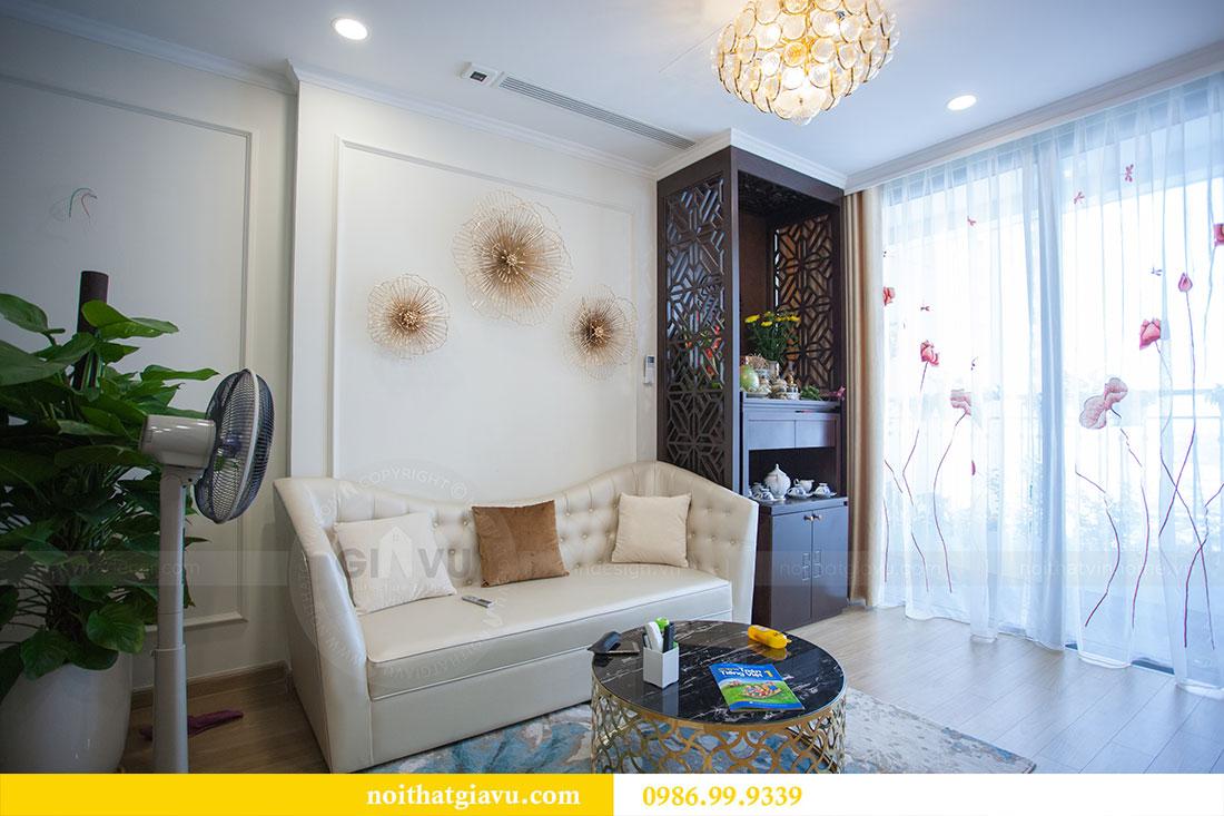 Thi công hoàn thiện nội thất chung cư Gardenia căn 21 tòa A3 4