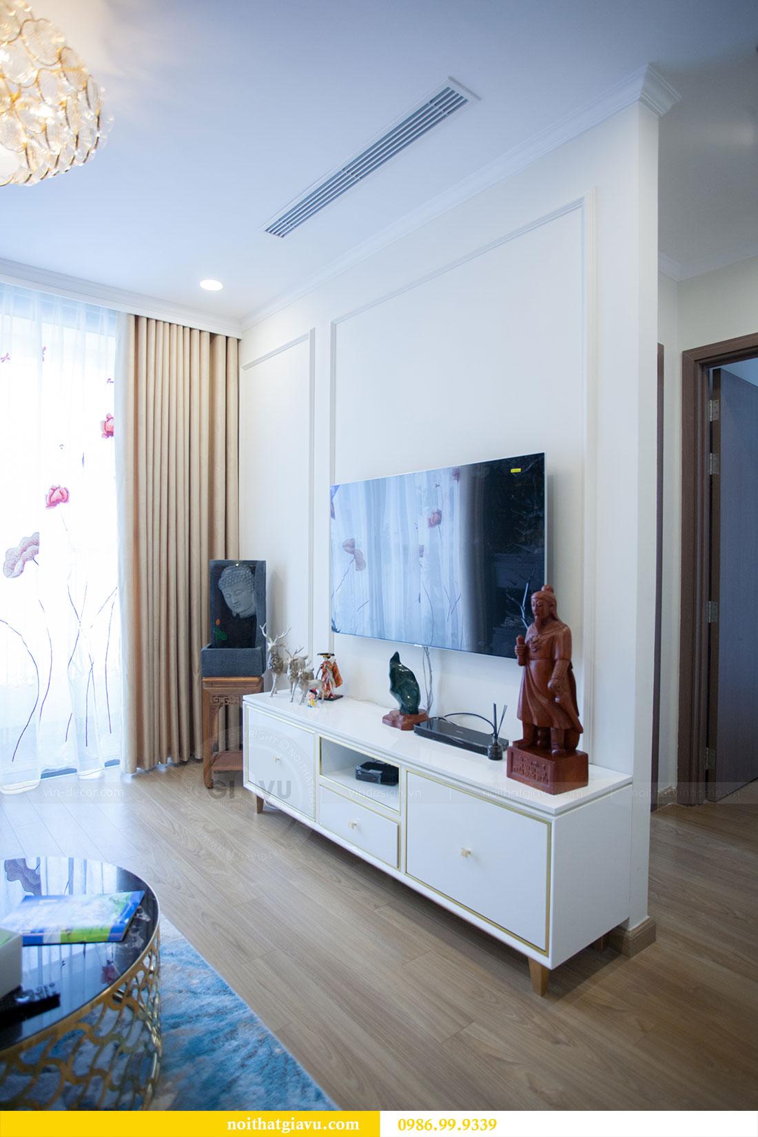 Thi công hoàn thiện nội thất chung cư Gardenia căn 21 tòa A3 5
