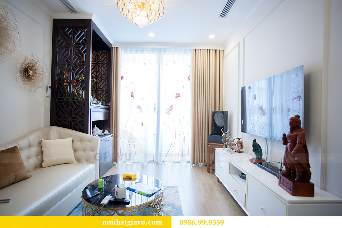 Thi công hoàn thiện nội thất chung cư Gardenia căn 21 tòa A3 6