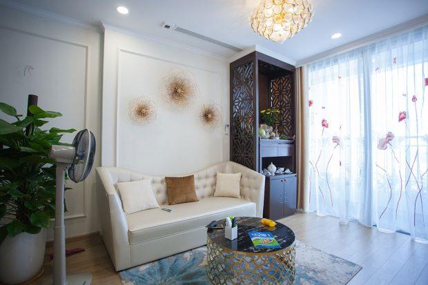 Thi công hoàn thiện nội thất chung cư Gardenia căn 21 tòa A3