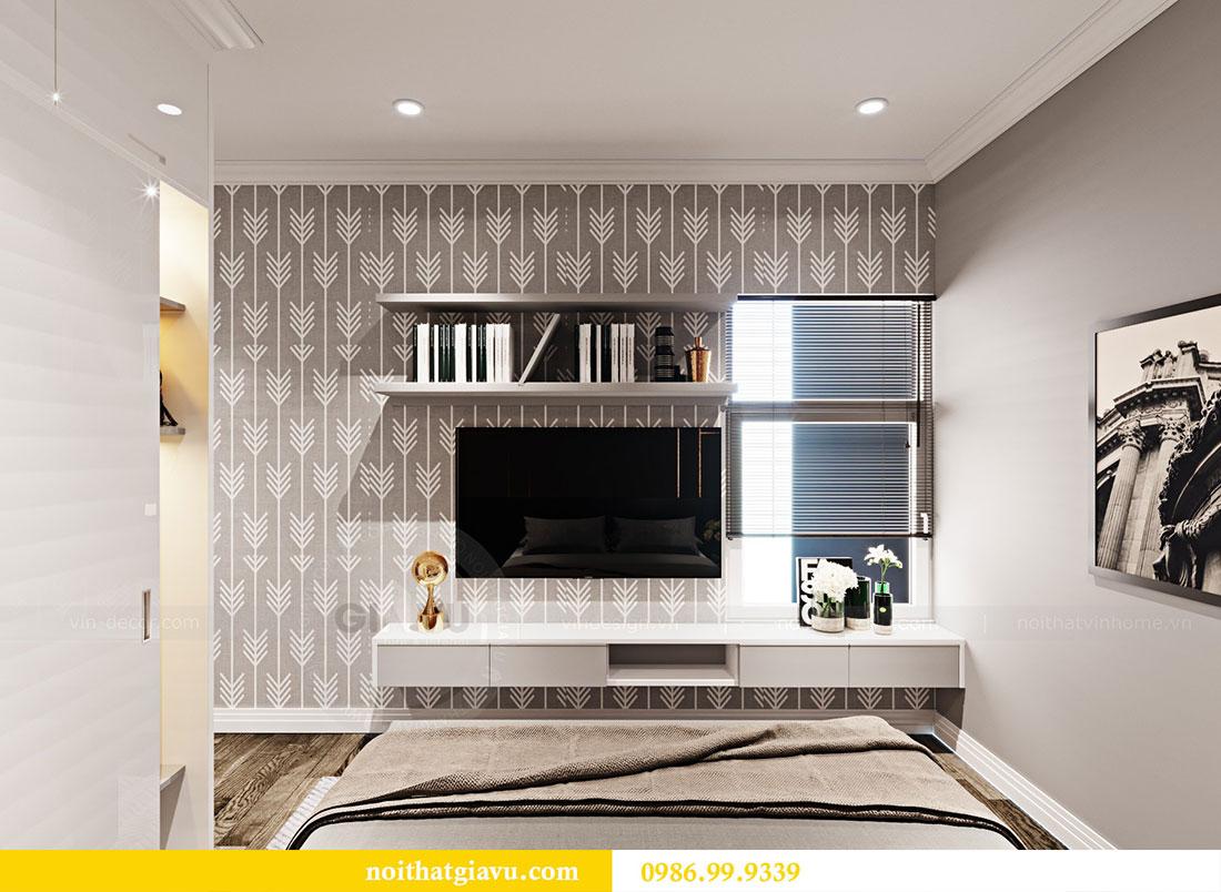 Thiết kế nội thất chung cư Sky Lake đẹp hiện đại - Lh 0986999339 view 10
