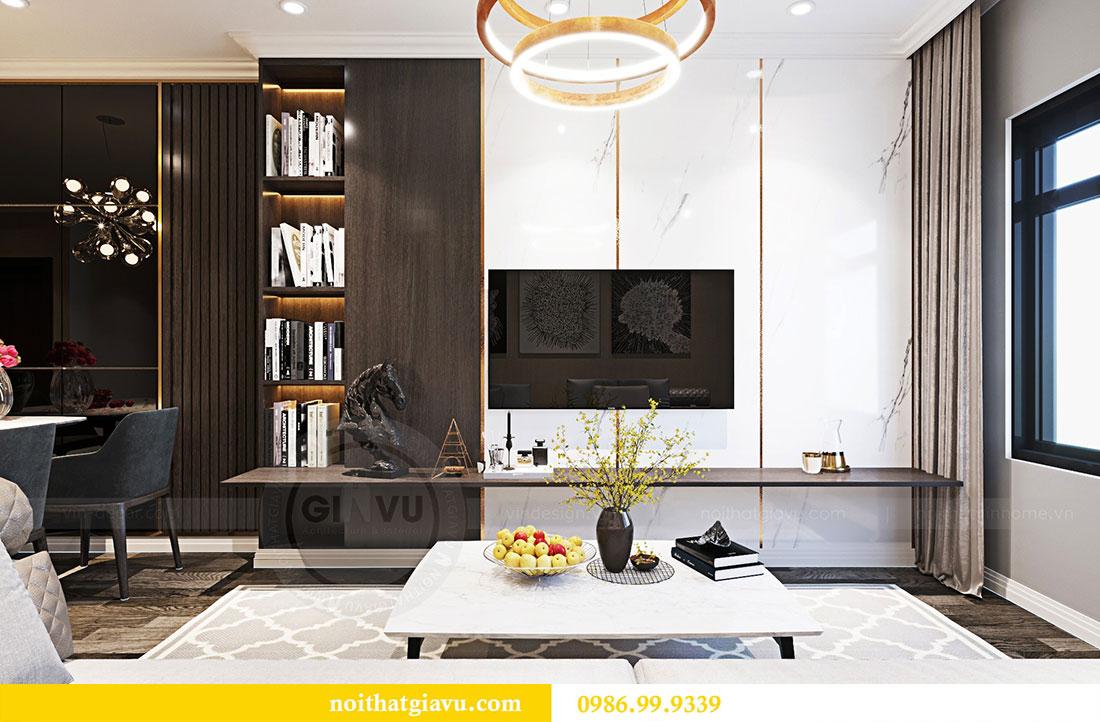 Thiết kế nội thất chung cư Sky Lake đẹp hiện đại - Lh 0986999339 view 4