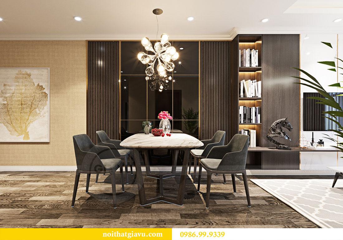 Thiết kế nội thất chung cư Sky Lake đẹp hiện đại - Lh 0986999339 view 3