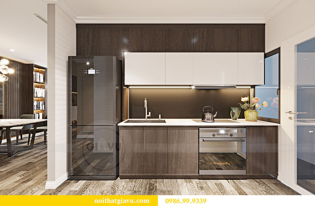 Thiết kế nội thất chung cư Sky Lake đẹp hiện đại - Lh 0986999339 view 6