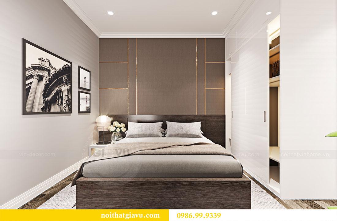 Thiết kế nội thất chung cư Sky Lake đẹp hiện đại - Lh 0986999339 view 9