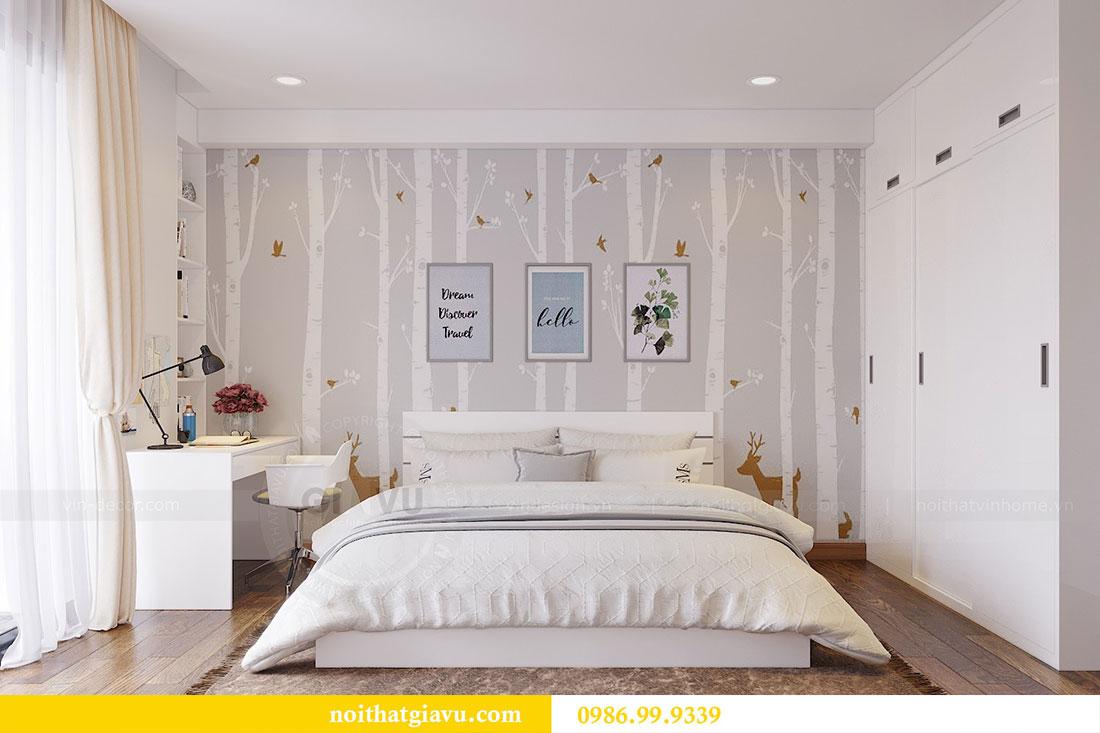 Thiết kế thi công nội thất chung cư Dcapitale căn 3 ngủ 11