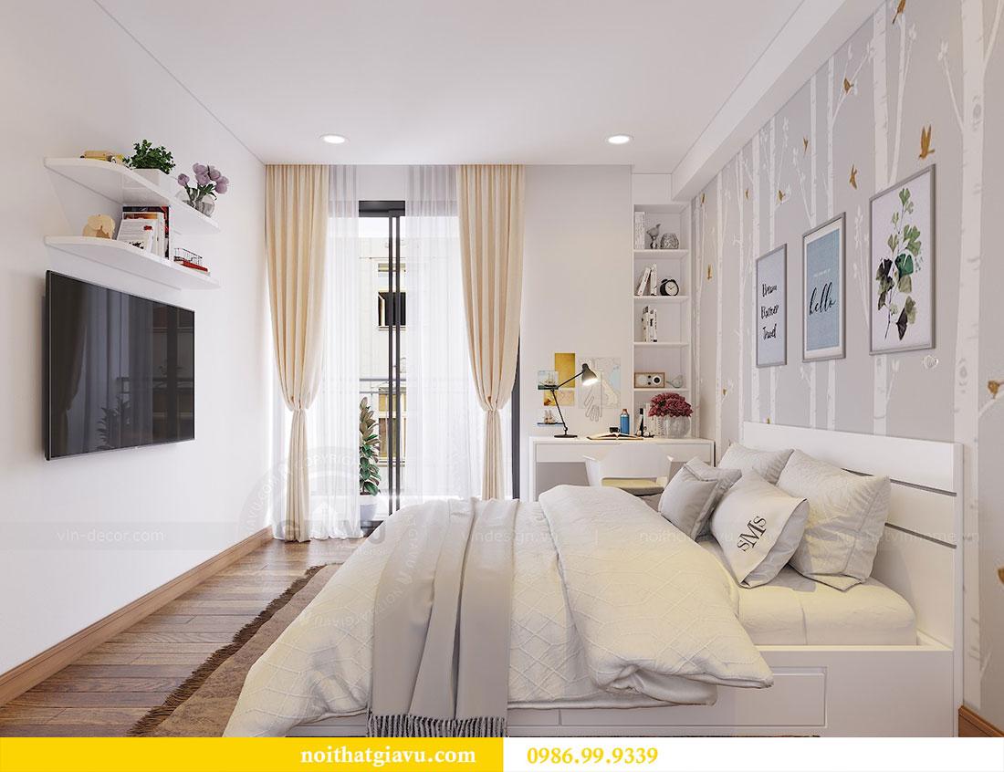 Thiết kế thi công nội thất chung cư Dcapitale căn 3 ngủ 12