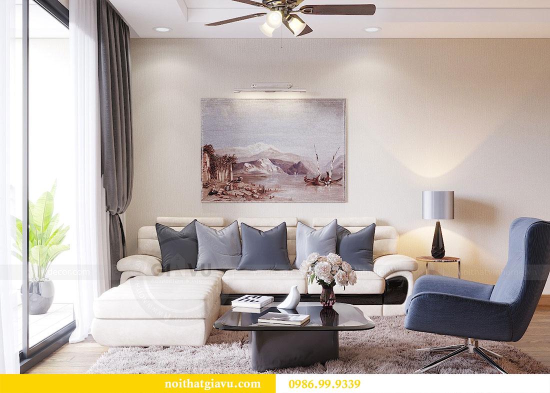 Thiết kế thi công nội thất chung cư Dcapitale căn 3 ngủ 6