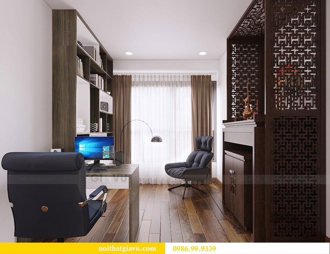 Thiết kế thi công nội thất chung cư Dcapitale căn 3 ngủ 7