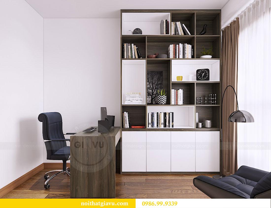 Thiết kế thi công nội thất chung cư Dcapitale căn 3 ngủ 8