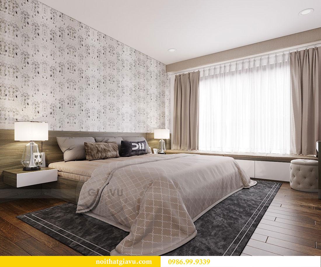 Thiết kế thi công nội thất chung cư Dcapitale căn 3 ngủ 9