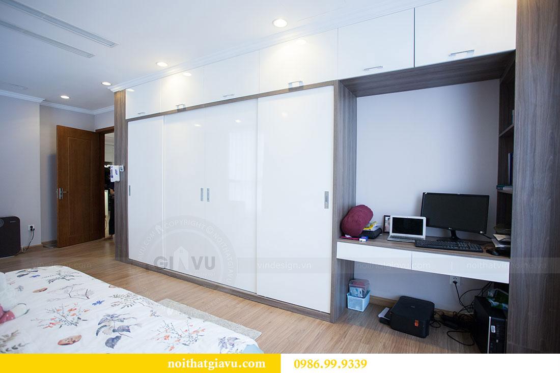 Hoàn thiện nội thất chung cư căn 04 tòa park 7 nhà anh Giang 14