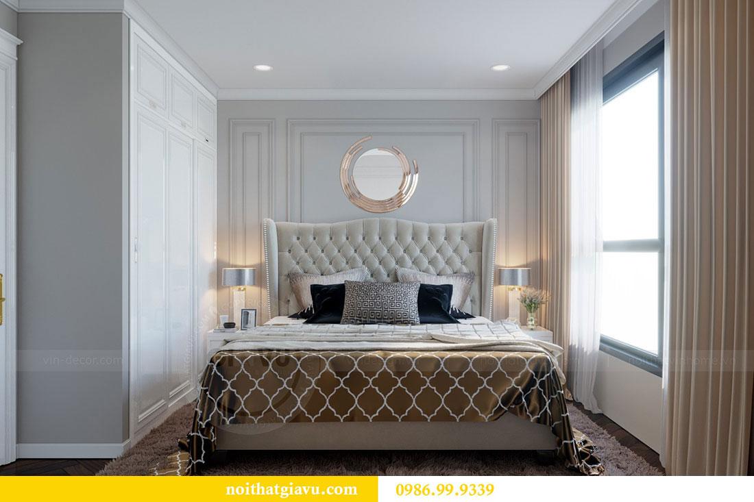 Thiết kế nội thất chung cư Metropolis căn 07 tòa M1 view 10