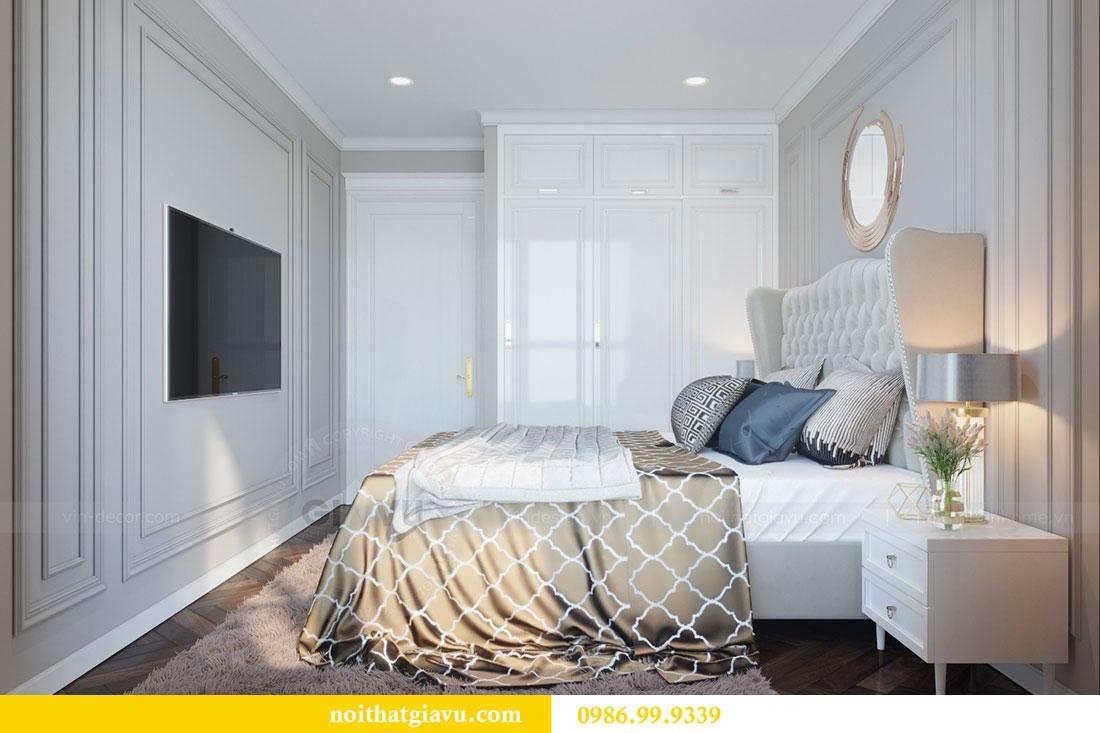 Thiết kế nội thất chung cư Metropolis căn 07 tòa M1 view 11