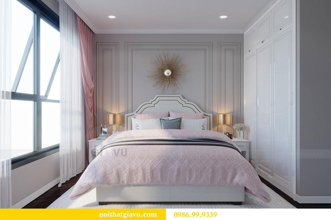Thiết kế nội thất chung cư Metropolis căn 07 tòa M1 view 12