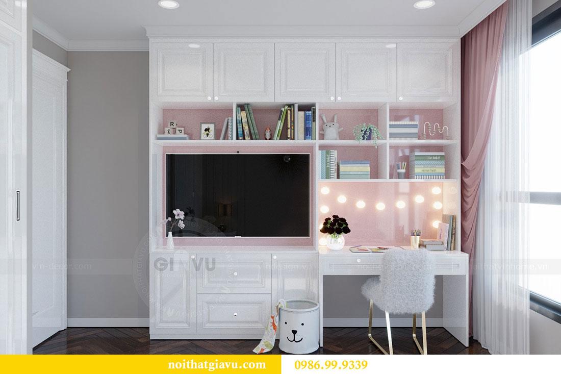 Thiết kế nội thất chung cư Metropolis căn 07 tòa M1 view 13
