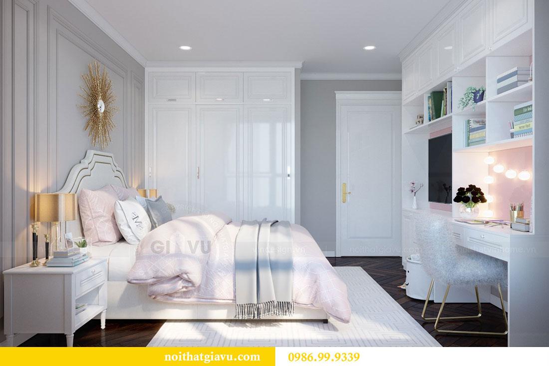 Thiết kế nội thất chung cư Metropolis căn 07 tòa M1 view 14