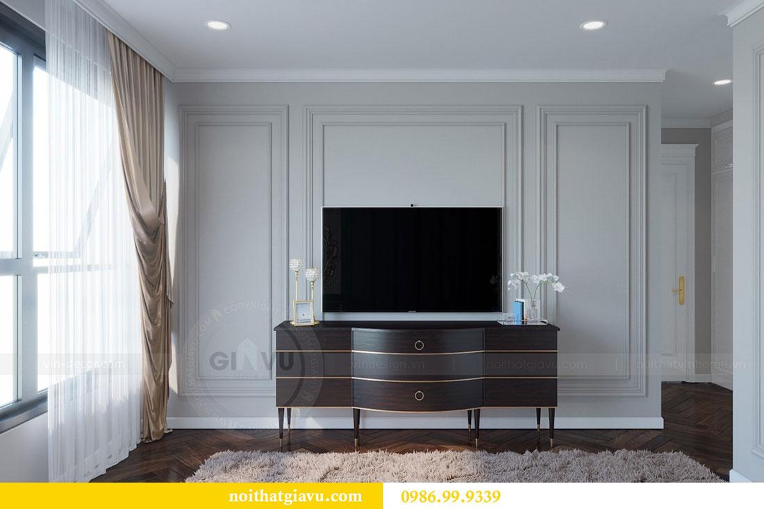 Thiết kế nội thất chung cư Metropolis căn 07 tòa M1 view 9