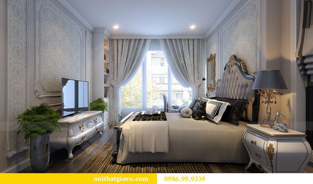 Thiết kế nội thất Vinhomes Dcapitale căn 04 tòa C3 view 10