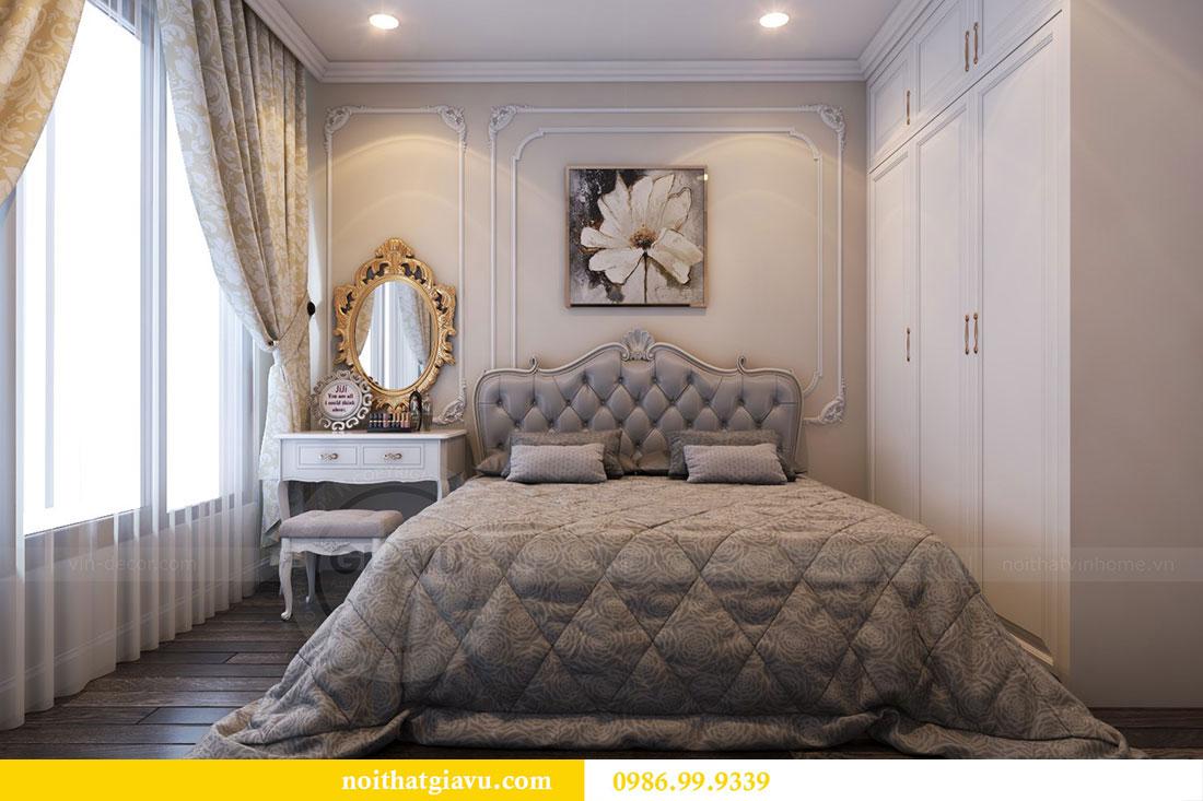 Thiết kế nội thất Vinhomes Dcapitale căn 04 tòa C3 view 11