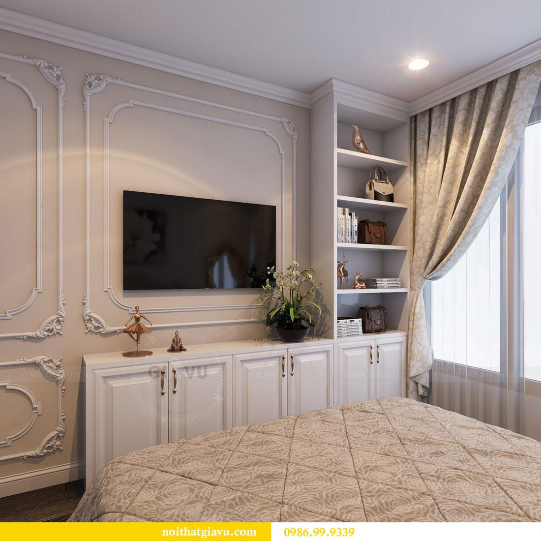 Thiết kế nội thất Vinhomes Dcapitale căn 04 tòa C3 view 12