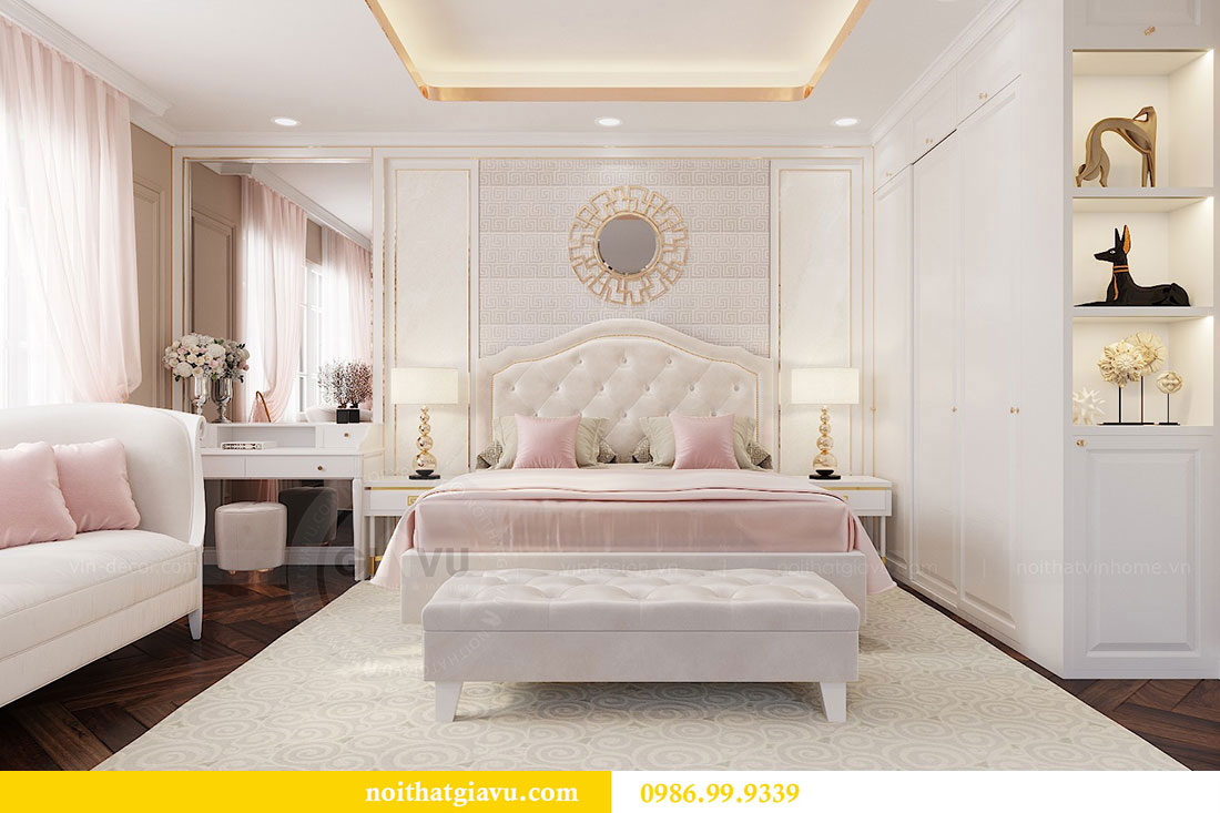 Thiết kế nội thất Vinhomes Dcapitale căn 04 tòa C3 view 13
