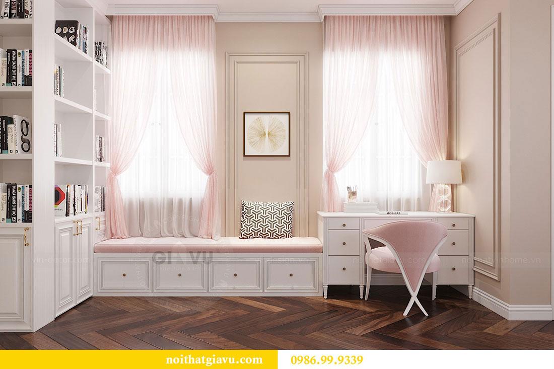 Thiết kế nội thất Vinhomes Dcapitale căn 04 tòa C3 view 14