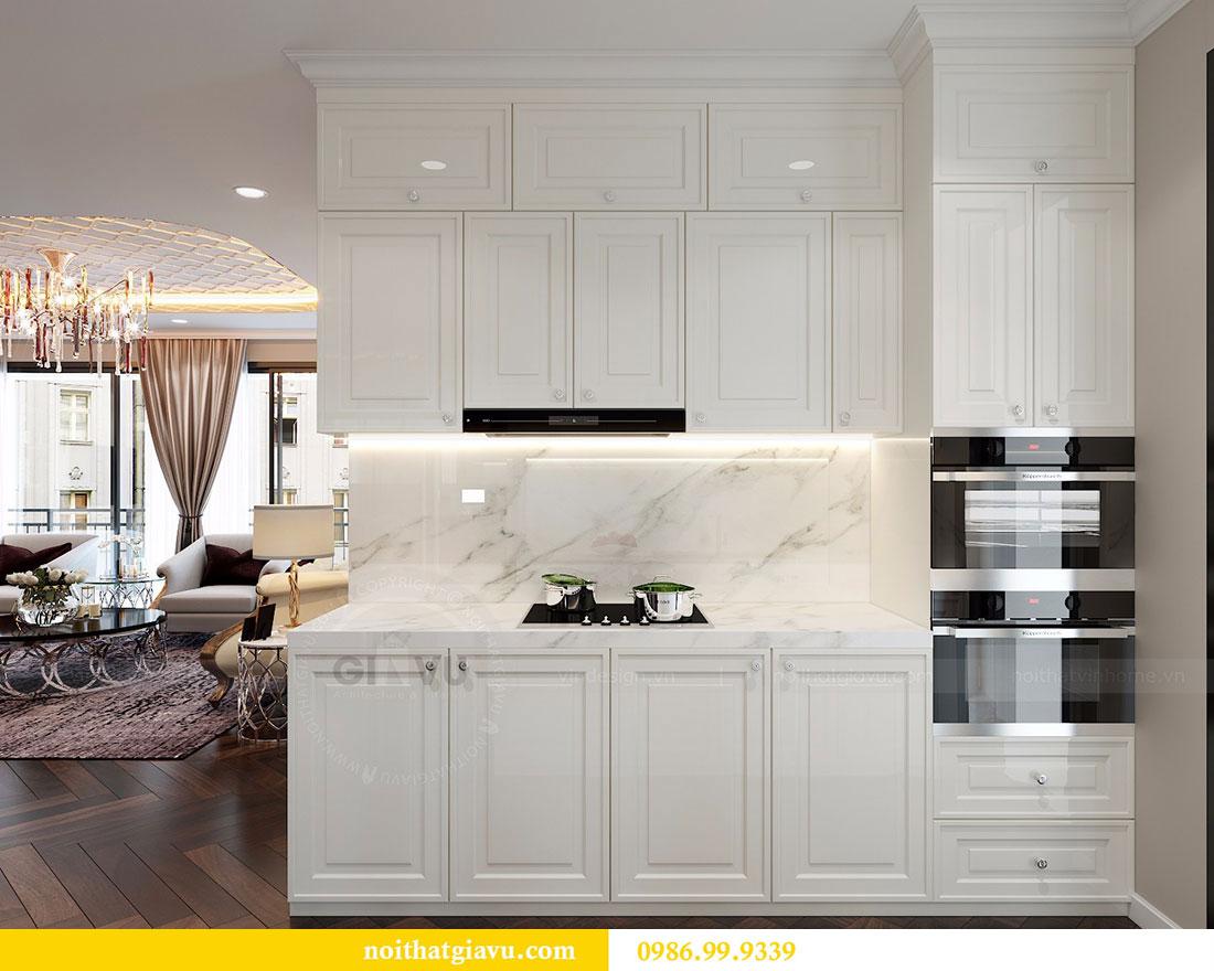 Thiết kế nội thất Vinhomes Dcapitale căn 04 tòa C3 view 2