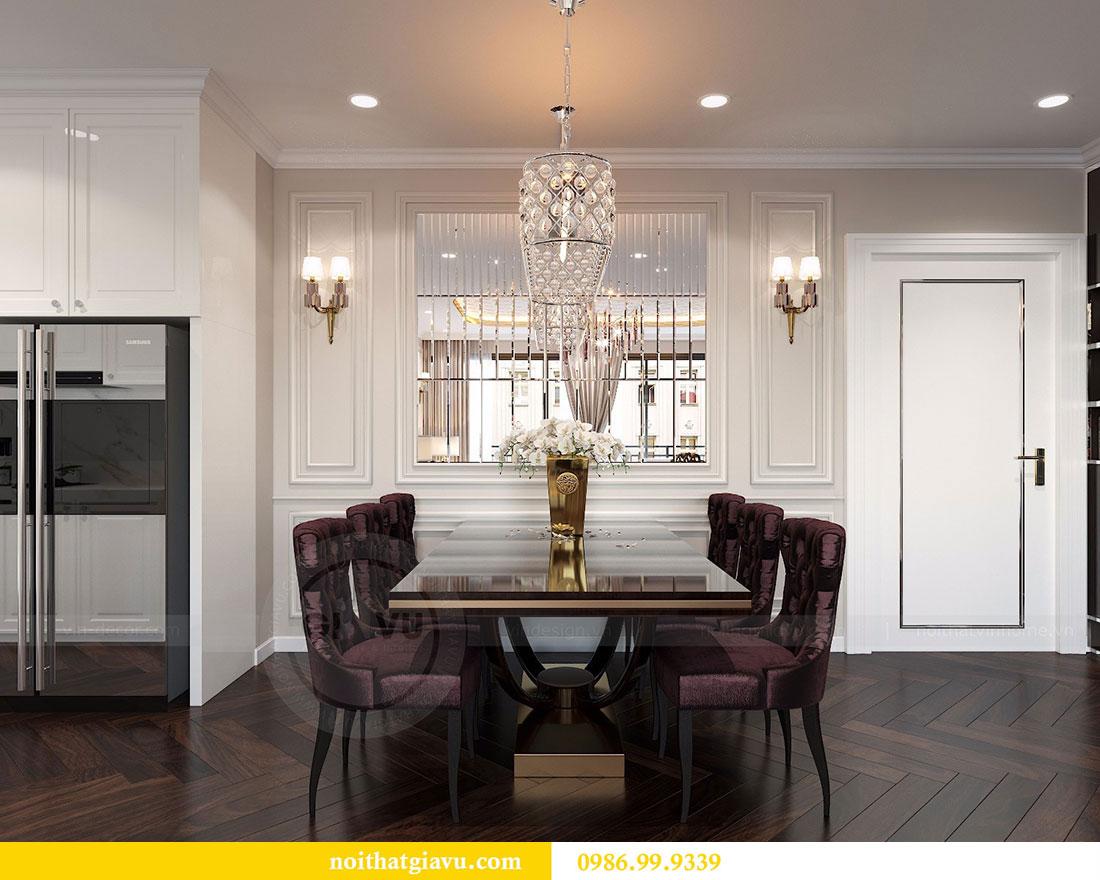 Thiết kế nội thất Vinhomes Dcapitale căn 04 tòa C3 view 4