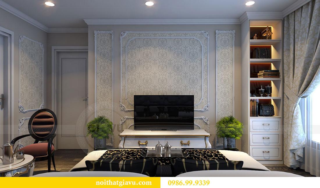 Thiết kế nội thất Vinhomes Dcapitale căn 04 tòa C3 view 9
