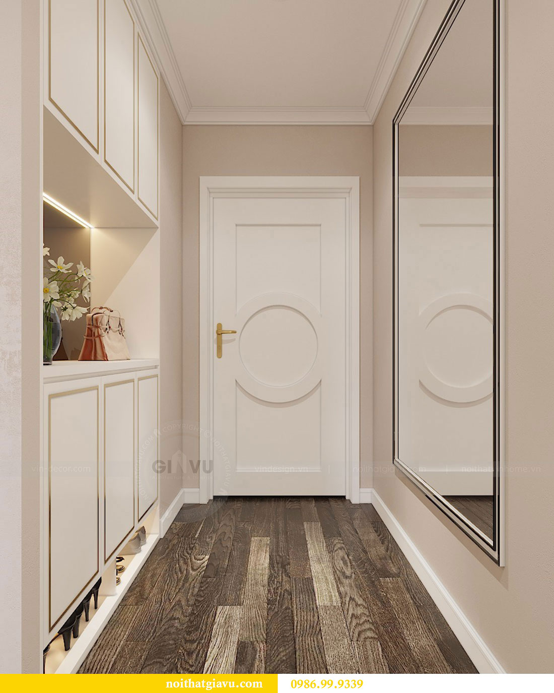 Thiết kế nội thất Vinhomes Green Bay Mễ Trì - Lh 0986999339 view 1