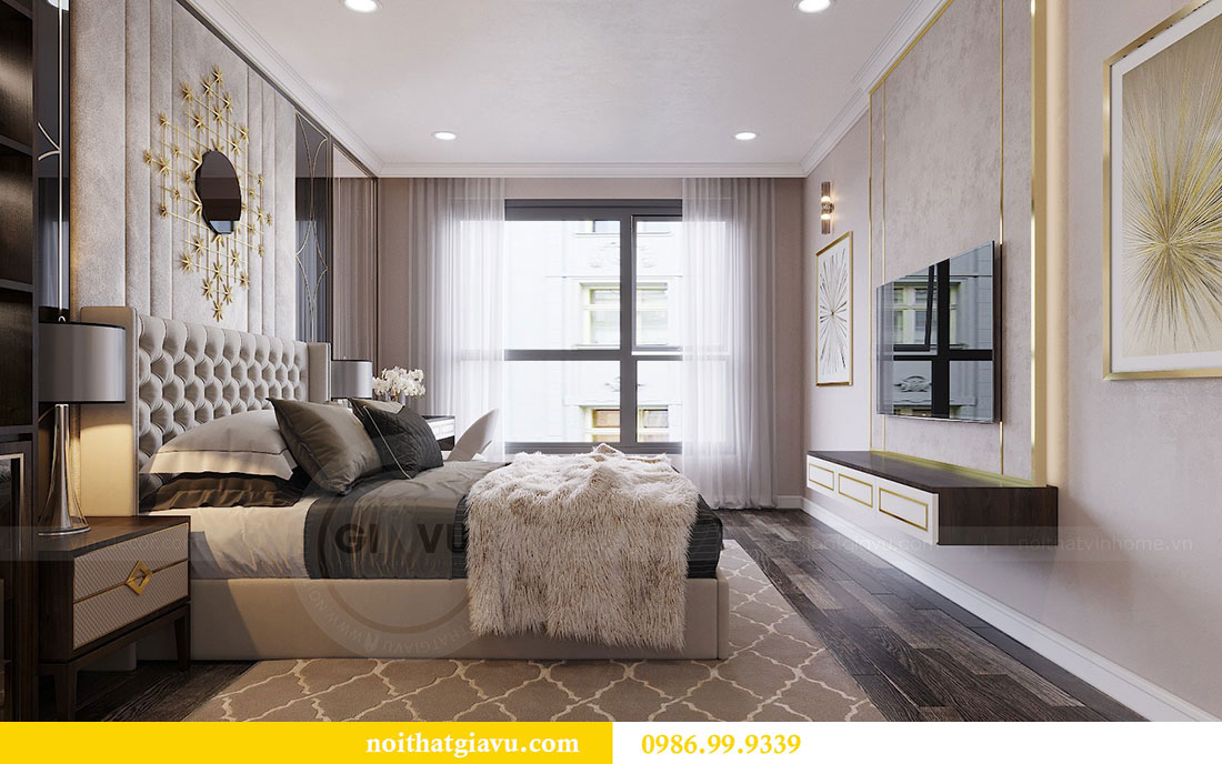 Thiết kế nội thất Vinhomes Green Bay Mễ Trì - Lh 0986999339 view 10