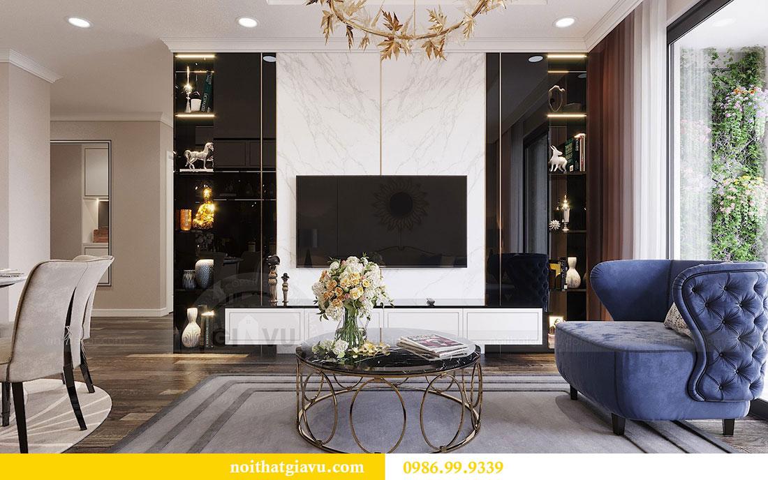 Thiết kế nội thất Vinhomes Green Bay Mễ Trì - Lh 0986999339 view 5