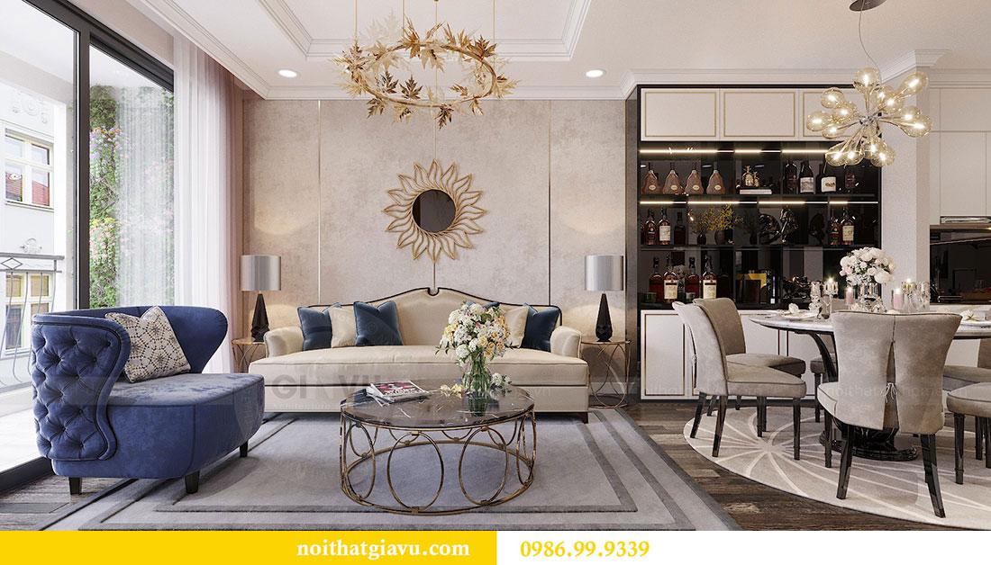 Thiết kế nội thất Vinhomes Green Bay Mễ Trì - Lh 0986999339 view 7