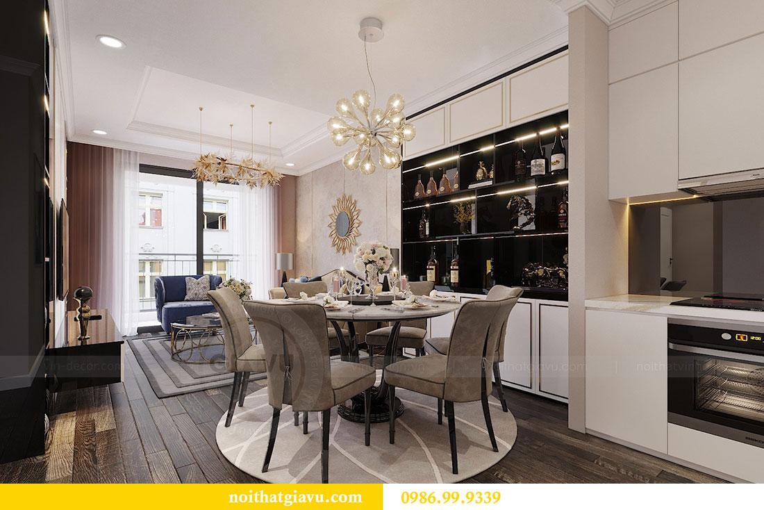Thiết kế nội thất Vinhomes Green Bay Mễ Trì - Lh 0986999339 view 8