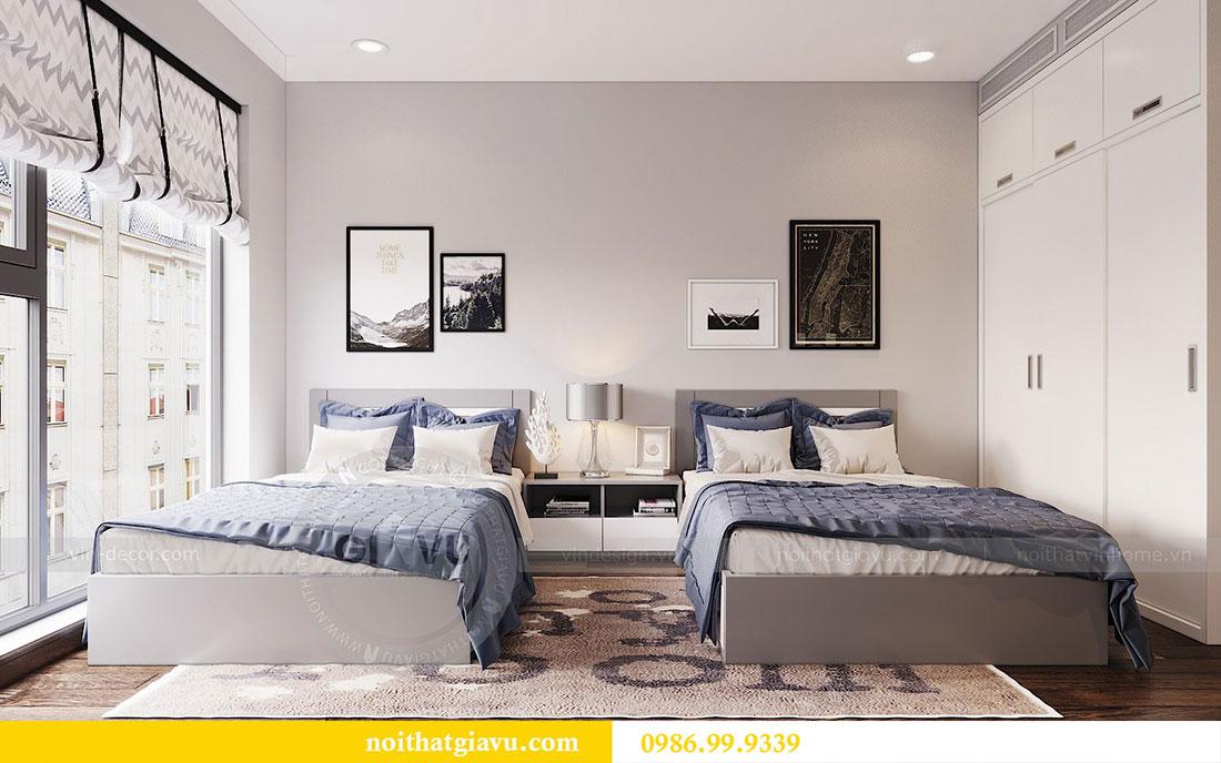 Thiết kế nội thất chung cư Sun Grand City căn 08 tòa C1 - chị Thoa 10