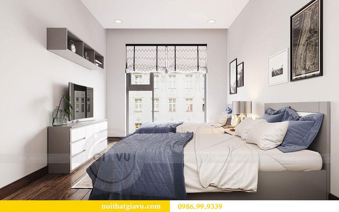 Thiết kế nội thất chung cư Sun Grand City căn 08 tòa C1 - chị Thoa 11