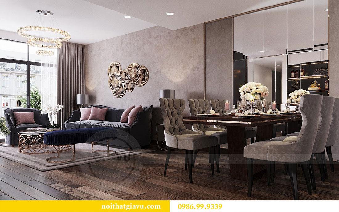 Thiết kế nội thất chung cư Sun Grand City căn 08 tòa C1 - chị Thoa 2