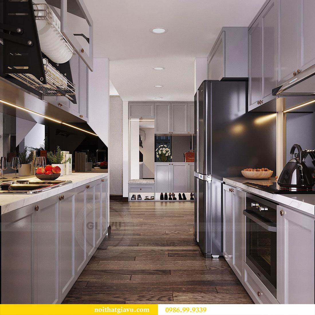 Thiết kế nội thất chung cư Sun Grand City căn 08 tòa C1 - chị Thoa 5