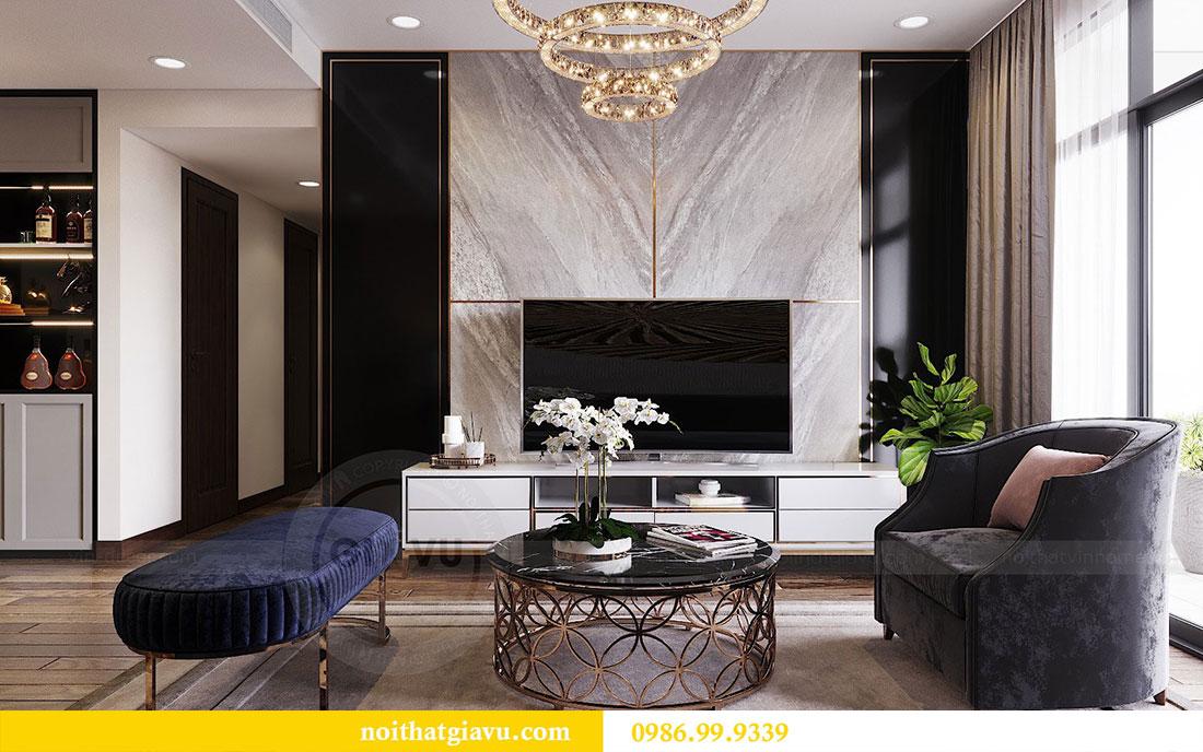 Thiết kế nội thất chung cư Sun Grand City căn 08 tòa C1 - chị Thoa 7