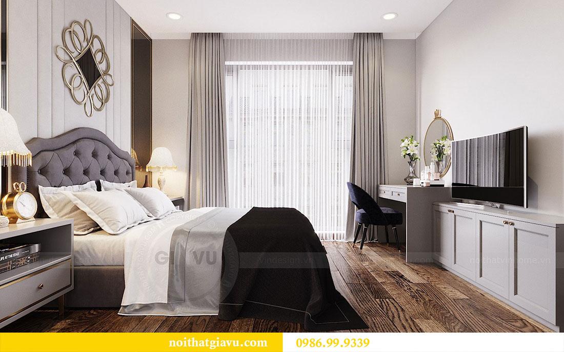 Thiết kế nội thất chung cư Sun Grand City căn 08 tòa C1 - chị Thoa 9